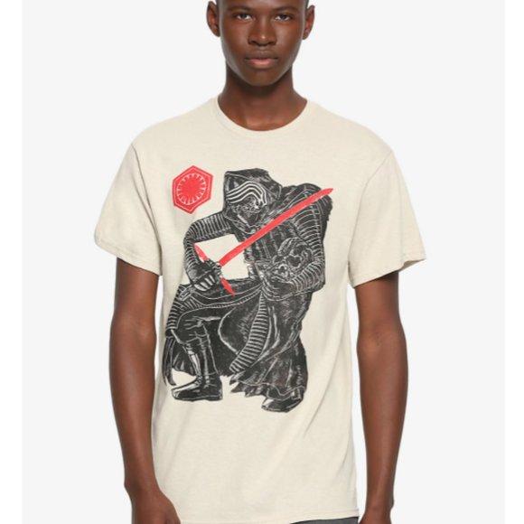Star Wars Kylo Ren Sketch T-Shirt XL